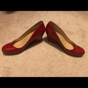 7M Brand new Jessica Simpson Red Wedges